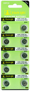 Knoopcel batterijen AG 9 / 936A