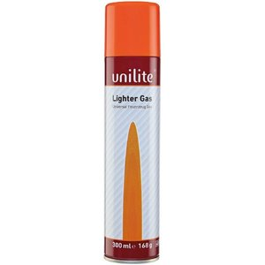 Unilite aansteker gas vuller 300ml | universeel formaat gasfles
