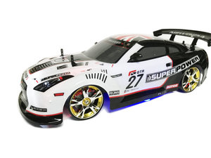 RC AUTO - Race auto -RC Drift Race Car 4x4 wielaandrijving | 30 km/u schaal 1:10