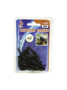 Snelbouwschroeven 3.5x25mm |Chipboard Screws Pak van 32 stuks