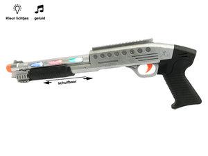 Shotgun speelgoed geweer met lichtjes en geluiden