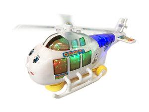 Speelgoed helicopter Air star met geluid en lichtjes