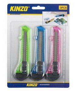 Kinzo Hobbymes 3delig set stanleymes