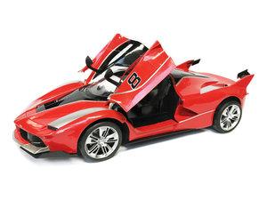 Rc Auto - Race Car - Sportwagen 42.5CM - deuren Open & Dicht -Z-Car rood