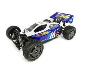 Rc Drift Sports - race auto - Buggy 2.4Ghz 4WD 1:10 40km -Blauw