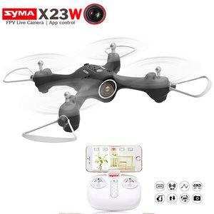 Syma X23W Drone met HD Live 720P camera - Hover mode -quadcopter zwart