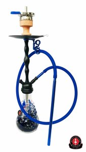 Amy Deluxe Hookah - Glorious Blue Ocean - Waterpijp