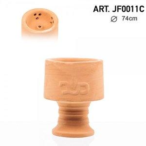 DUD Clay Bowl- waterpijp shisha natuurlijke tabakskop - Ø:7.4 cm