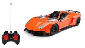 Rc Sport Race auto -radiografisch speelgoed auto - oplaadbaar | 1:14 Oranje