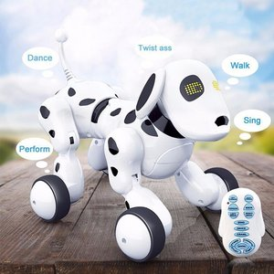 BS Rc Robot hond Dalmatiër - Smart pet -Rc Dogg - (oplaadbaar) 27CM