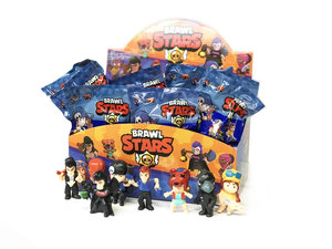 Speel figuren set van 24 stuks - display - Brawl Stars