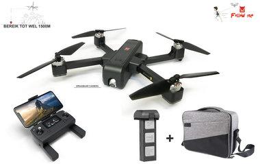 MJX Bugs 4W Drone - 5G Wifi FPV 2K Camera - Brushless GPS - opvouwbaar + opberg reis koffer
