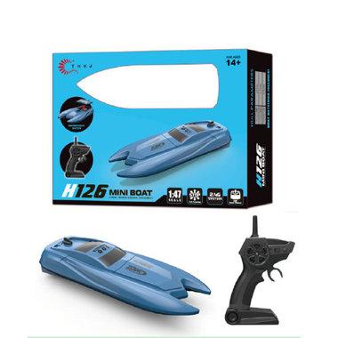 Rc boot 2.4ghz - 10 km/h - afstand bestuurbaar boot tot wel 50M - oplaadbaar