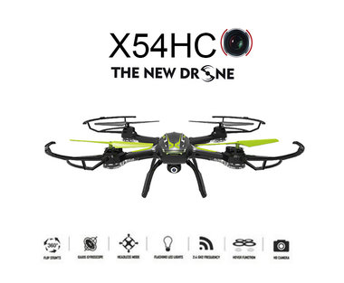 Syma X54HC Drone - met camera + Altitude Hover mode quadcopter