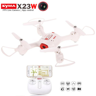 Syma X23W Quadcopter met Live camera - FPV - Beginners drone - wit