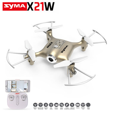 Syma X21W drone met FPV live Camera quadcopter +App control IOS & Android