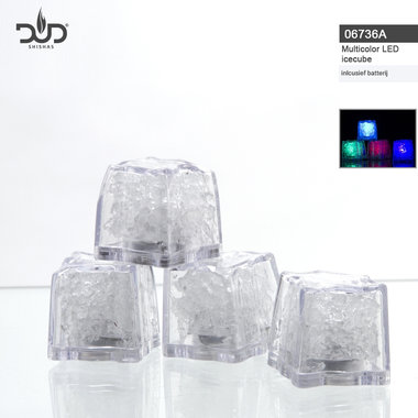 DUD Big Led light Ice Cubes verlichting voor waterpijp