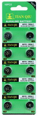 AG 10 / 389A batterijen 10 stuks in pak