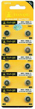 AG 3 / 392A batterijen