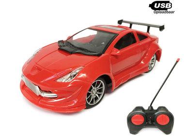 RC Race Model Auto - radiografisch bestuurbaar race auto -Emulation Car 1:16(OPLAADBAAR)