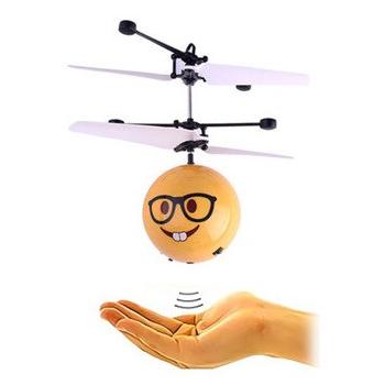Flying Ball Emoji |zwevende bal met Led-infraroodsensor - Hand Vliegende Bal