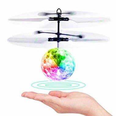 BS Flying Ball crystal ball zwevende disco bal met Led-infraroodsensor - Hand bestuurbaar Vliegende Bal
