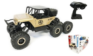 BS RC Rock Defender Off Road- 6x6 wheel drive - Bergbeklimmer -2.4Ghz | 1:12