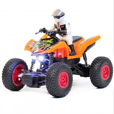 Rc Quad OFF-ROAD - High-Speed Climbing 1:20 -Oplaadbaar
