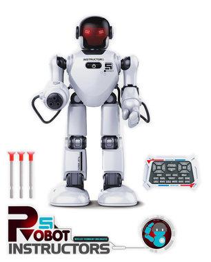 Intelligent Rc Robot Instructors - met diverse commando uitvoeringen (oplaadbaar) 40CM