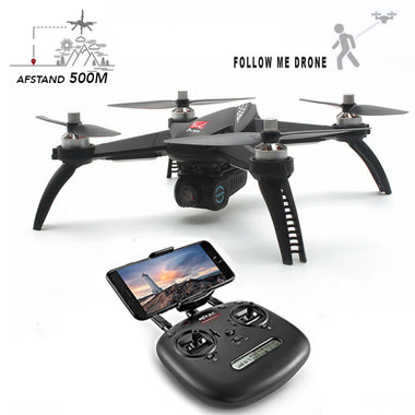 MJX Bugs 5W camera drone - Brushless motor + GPS systeem en follow me - FPV 1080P HD live camera