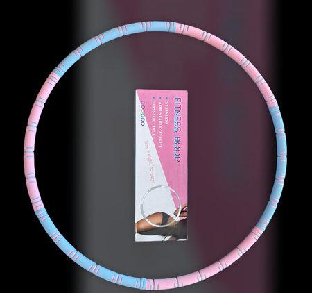Fitness hoelahoep met kliksysteemØ 88cm - 6 delen - Fitness Hoop