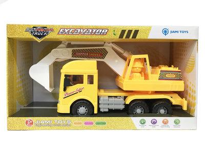 Graafmachine met geluiden - 360º draaibaar - Multifunction Truck 32CM