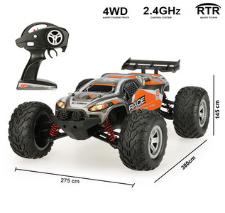 The Brave Short Course Truck car 1:12 - 2,4 GHz 4WD Rc Auto - Brushless motor - 30KM/H