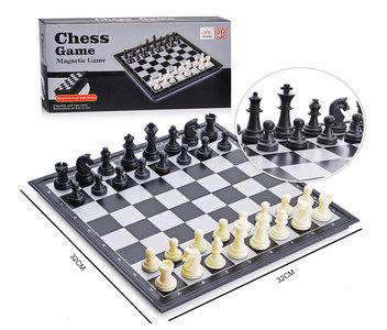 Schaakbord - Chess Magnetic Game- met magnetisch opvouwbaar bord - schaakspel 32CM