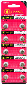 Knoopcel batterijen AG 4 / 377A