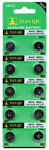 Knoopcel Batterijen AG 10 / 389A