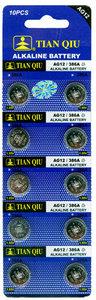 Tian Qiu386A / AG 12 batterijen 10 stuks in pak