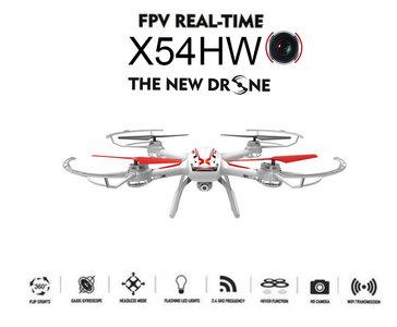 Syma X54HW drone fpv live camera met altitude mode