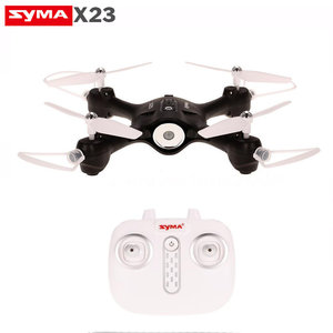 Syma X23 quadcopter -one key take off/landing functie - Hover mode - drone zwart