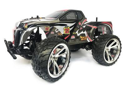 Rc Monster Truck Racing SHADOW Car auto 1:10 (45CM) 18KM/U -oplaadbaar