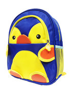 Kinderrugzak Pinguin rugtas blauw