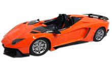 Rc Sport Race auto -radiografisch speelgoed auto oplaadbaar | 1:14 Oranje